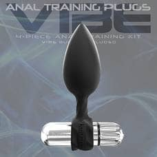 Anal Training Plugs VIBE